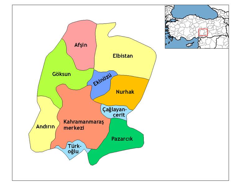 776px-kahramanmaras_districts